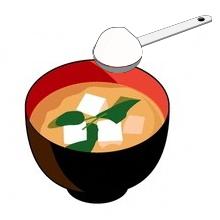 味噌汁にコラーゲン